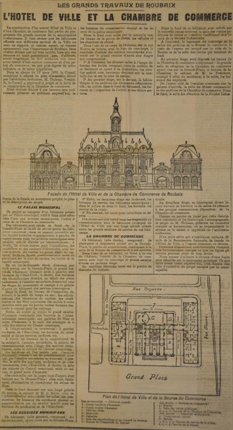 revue de presse roubaix 1911. Black Bedroom Furniture Sets. Home Design Ideas